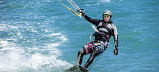 kitesurfing north wales
